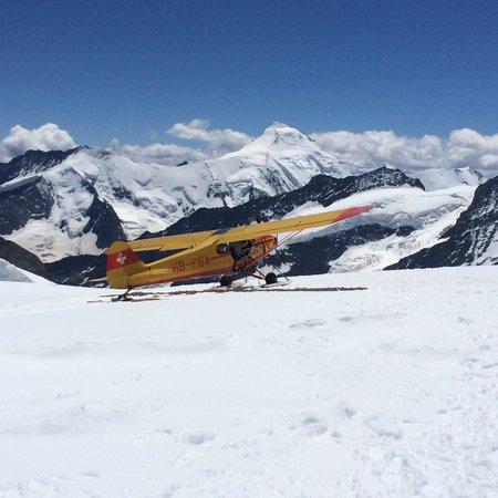 Jungfraujoch: Snow Plane