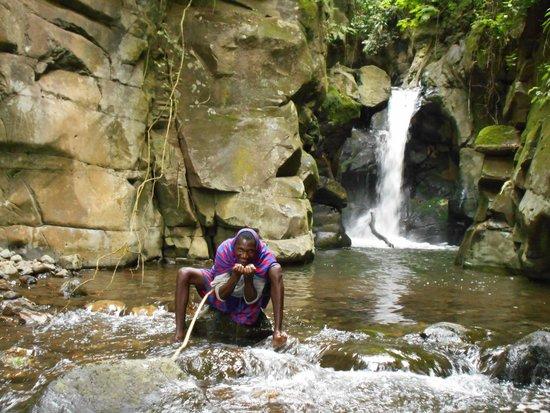 Songota Falls Lodge: Songota falls
