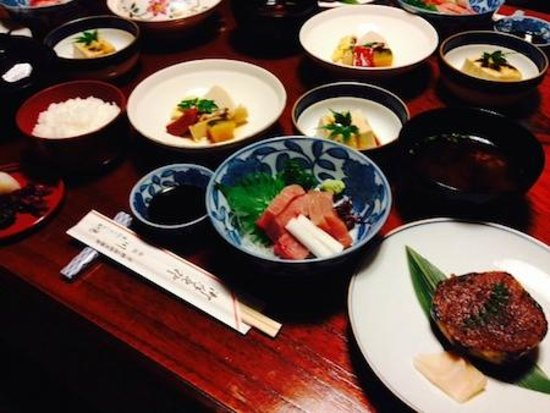 Inn Kawashima: A simple kaiseki dinner that was tasty and healthy