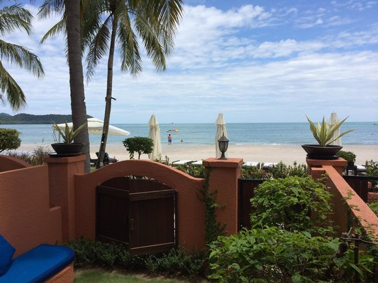 Casa del Mar, Langkawi: View from our seaside room