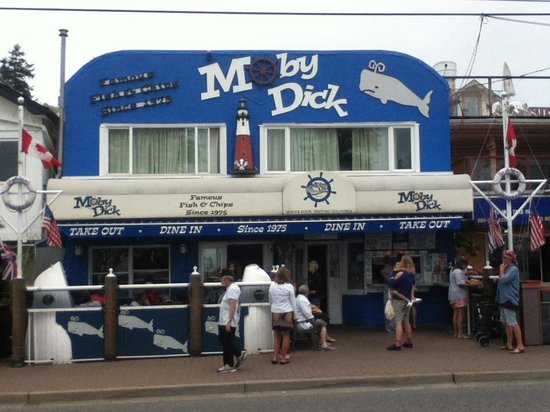 Moby Dick Restaurant : Moby Dick ... fun!