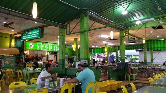 The dining area at Ana Ikan Bakar Petai.