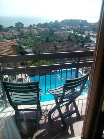 Hotel Cavalieri: Panorama e ... relax !!!