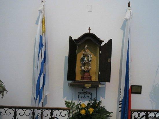 Iglesia Matriz: Santo de batalhas