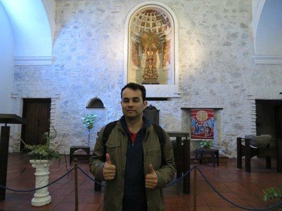 Iglesia Matriz: Carlos Feliz na matriz