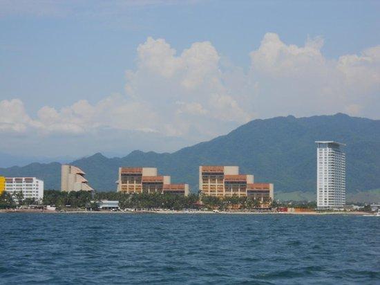 Westin Resort & Spa Puerto Vallarta: view from the ocean
