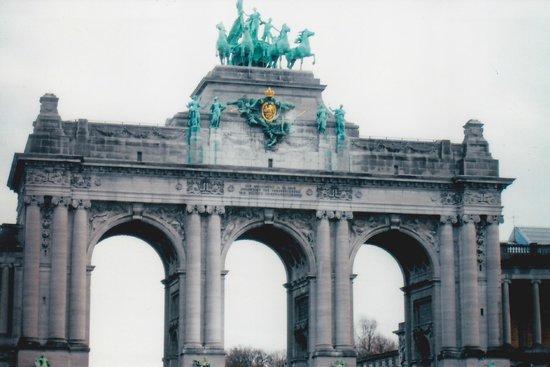 Parc du Cinquantenaire: The Arch