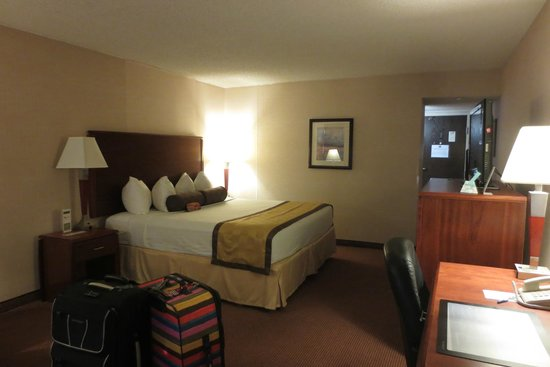 Best Western Executive Inn : bedroom