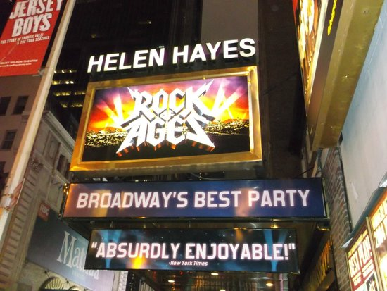 Rock of Ages : Helen Hayes Marquis