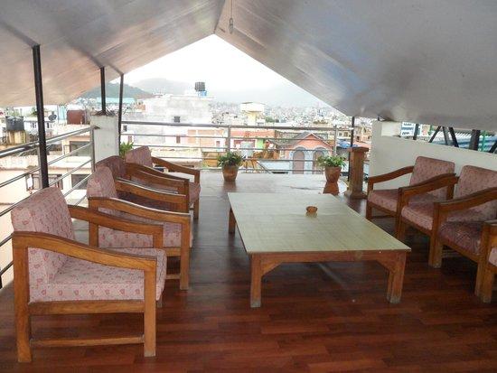 Hotel Yambu: Rooftop