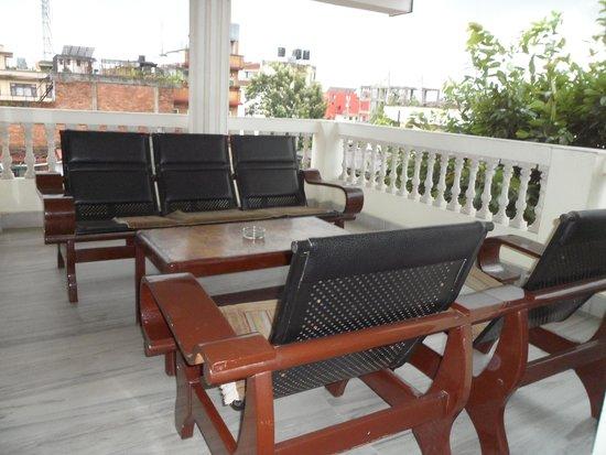 Hotel Yambu: Balcony