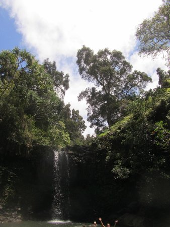 Hike Maui: Waterfall, lunch spot and cliff diving!
