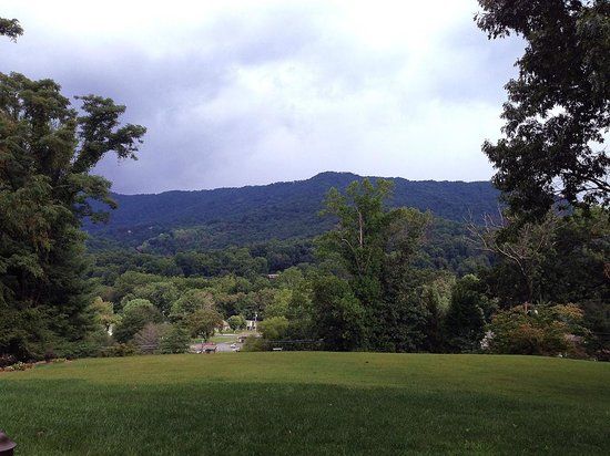 Andon-Reid Inn Bed and Breakfast : The Morning View from AR patio and fire pit