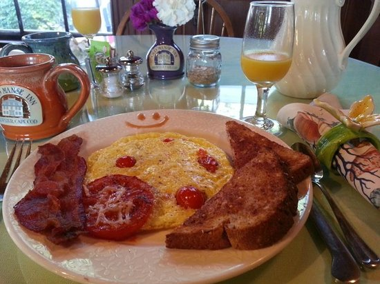 The Old Manse Inn : our four breakfast entree