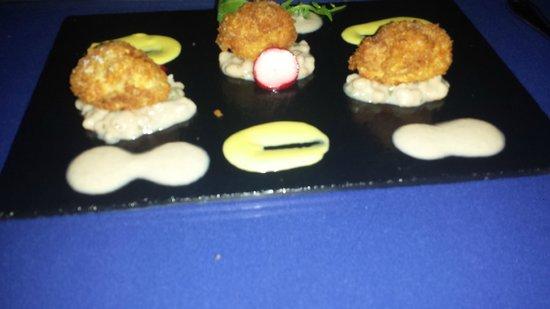 Amuse Sunset Restaurant Aruba: veal sweetbreads