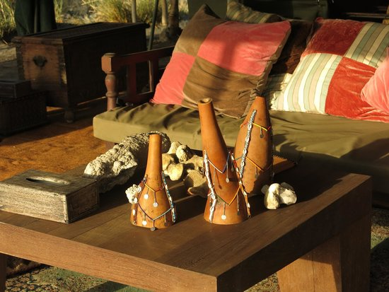 Ngare Sero - Lake Natron Camp: sitting room