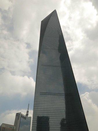 Park Hyatt Shanghai: Interesting exterior