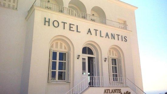 Atlantis Hotel: Вход в наш отель