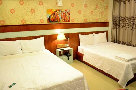Golden Wind Hotel : 2 Double Beds