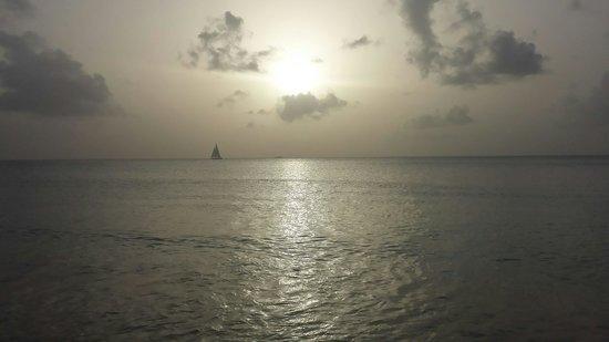 Galley Bay Resort: Lovely evening!