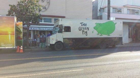 The Green Pig: Truck Stop Thursday