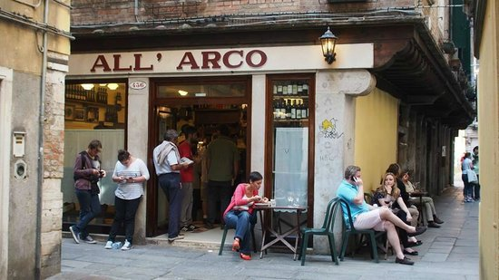 All'Arco : Outside