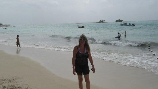 Sol Caribe Campo: En el club de playa del hotel