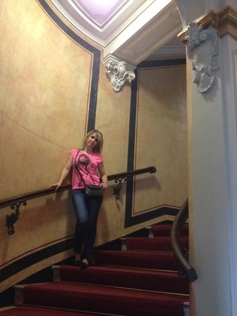 GOLD INN Angleterre : Stairs