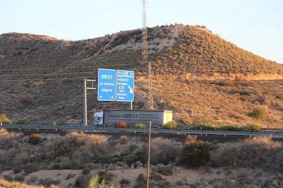 Cortijo del Sevillano: Sur l'autoroute des vacances ...
