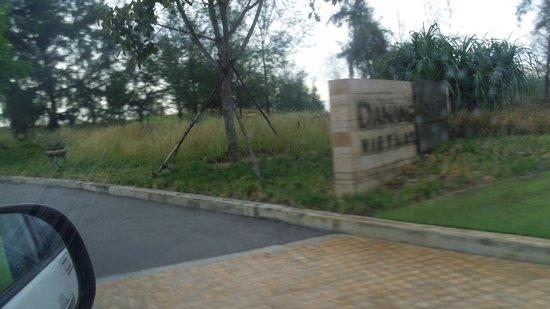 Danang Golf Club: 入口