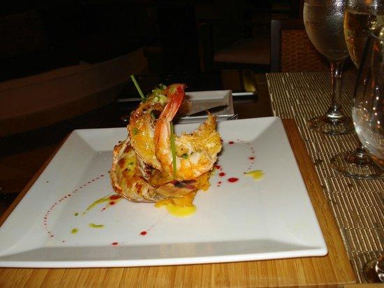 Paradisus Princesa del Mar Resort & Spa: Lobster dinner at Miramar