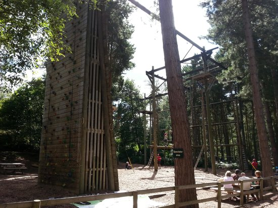 Center Parcs Sherwood Forest : One of the many outdoor activities.