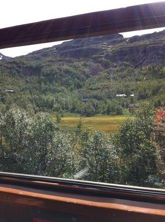 The Flam Railway : dal finestrino (tra una galleria e l'altra)