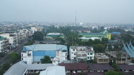 Grand Angkasa Medan managed by AccorHotels: A view of Medan skyline