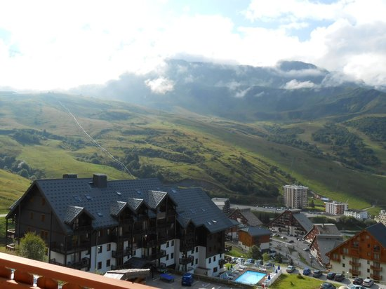 Hotel La Perelle: vue de la chambre