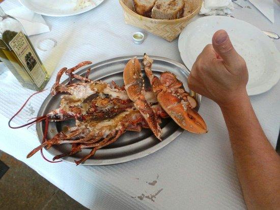 Mariscomania: Homard cuit à la plancha,  un délice