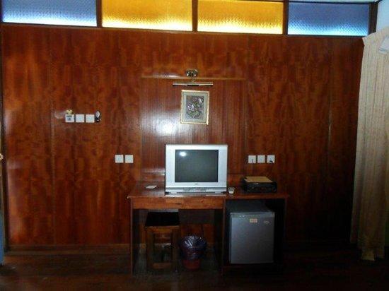 Adina Motel: small tv