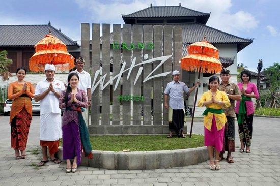 Grand Whiz Hotel Nusa Dua: Entries
