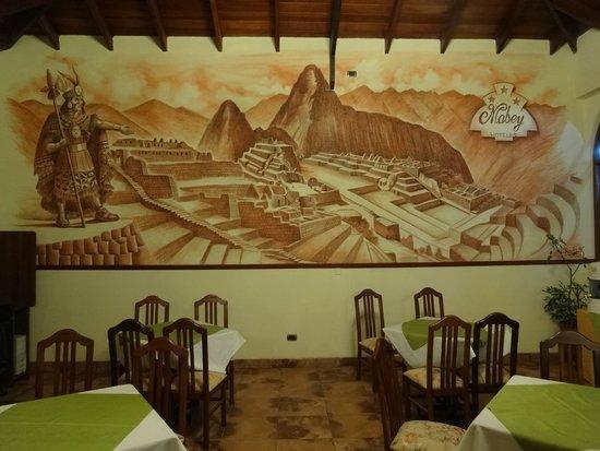 Hotel Mabey Urubamba : レストラン