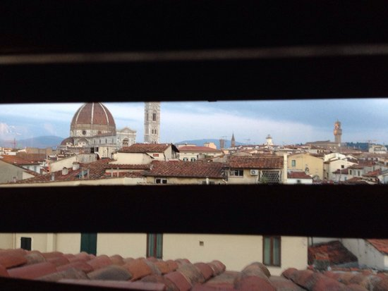 Grand Hotel Baglioni Firenze : view from the room! Beautiful!