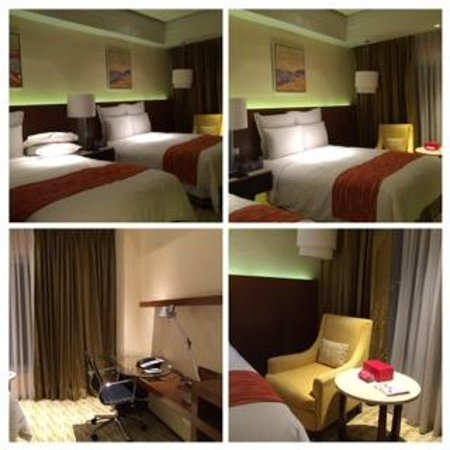 Manila Marriott Hotel: beds