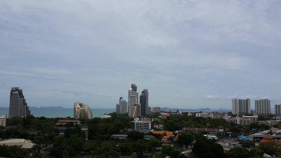 Holiday Inn Pattaya: 從新的Executive tower高層樓房間遠眺