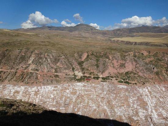 Salinas de Maras遠望