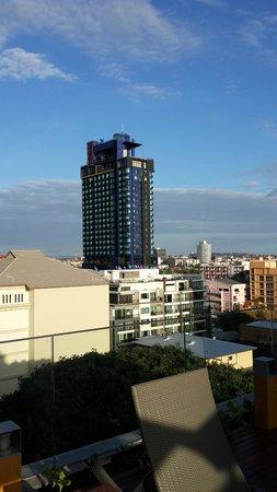 Holiday Inn Pattaya: 從新的Executive tower遠眺
