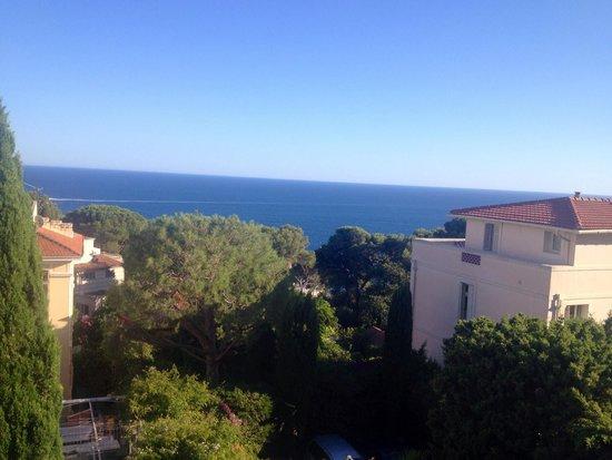 Hotel Normandy Cap d'Ail: Belle vue chambre 15