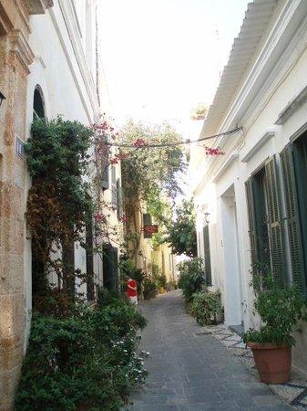 Casa Antica : rue piétonne
