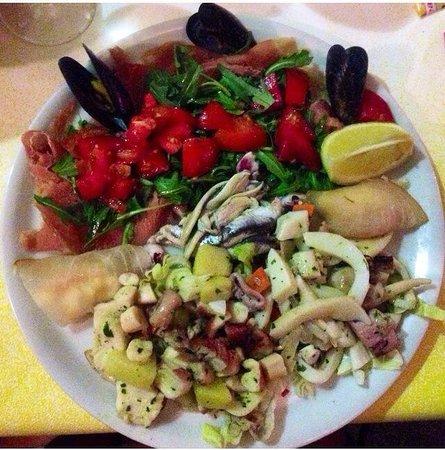 Il Portichetto: Antipasto misto di pesce