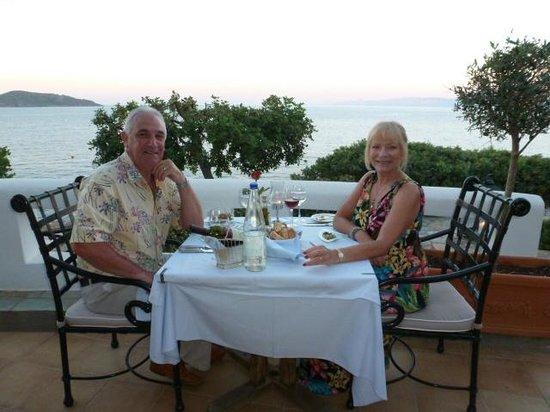 Tui Sensimar Elounda Village Resort & Spa by Aquila: romantic Dinner