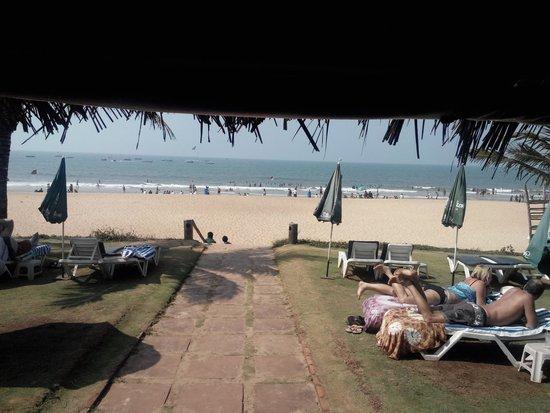 Chalston Beach Resort: View from restaurant