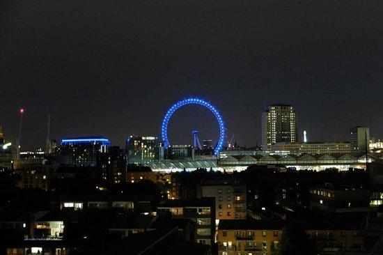 H10 London Waterloo: Uitzicht vanuit kamer